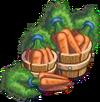 Harvestable-Carrot Bushel Basket