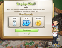 Goal-Trophy Chef! Part 2 Rewards