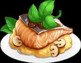 Recipe-Truffle Roast Salmon