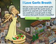 I Love Garlic Breath