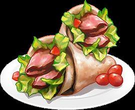 Recipe-Tex Mex BBQ Steak Wrap