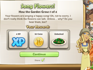 Song Flowers!