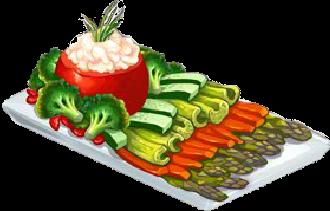 Recipe-Fresh Veggie Tray