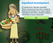 Ingredient Investigation!