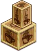 Buildable-Small Coffee Crate Open