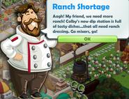 Ranch Shortage