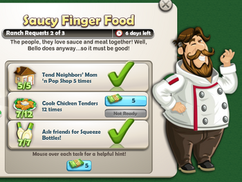 Saucy Finger Food