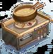 Station-Fondue Pot