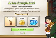Asian Completion!