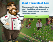 Short Term Meat Loss