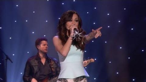 Cher Lloyd performs 'Want U Back'