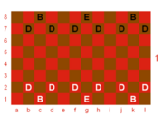 Dragonchess init config, lower board