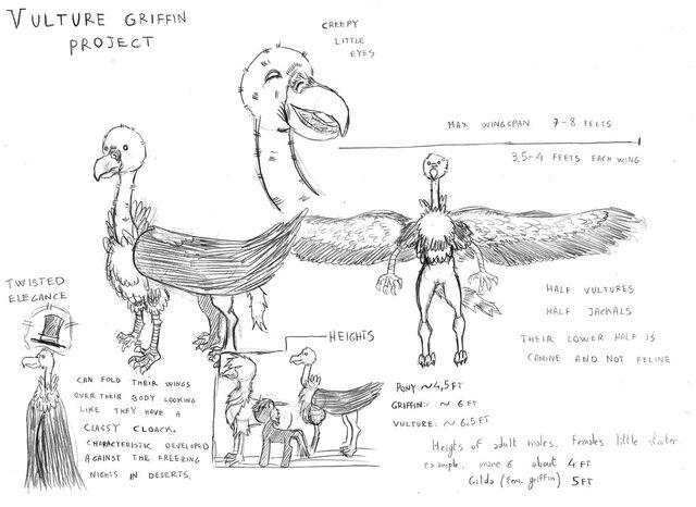 File:Vulture griffin by mattinix-d6raxhy.jpg