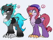 Hippogriff adoption closed by rainbowscreen-d5wvhh8