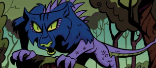 File:MLP IDW Comic Chupacabra.png
