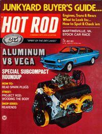 Hot Rod July 1972