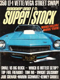 350 LT-1 Vette-Vega Street Swap March 1973