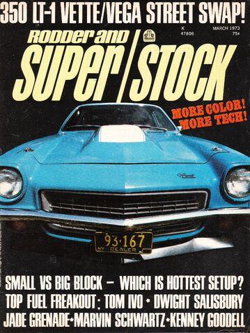 File:350 LT-1 Vette-Vega Street Swap March 1973.jpg