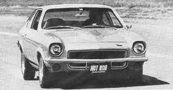Vega coupe-Hot Rod Nov. 1970