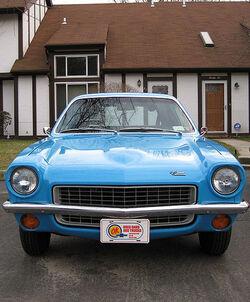 1971 Chevrolet Vega-panel front