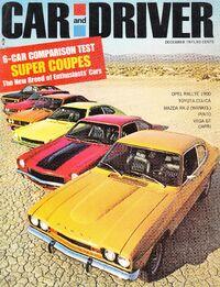 Car & Driver - Dec. 1971
