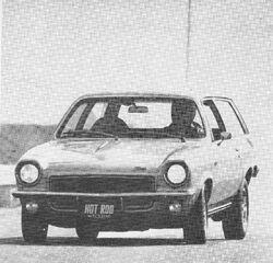 1972 Vega GT - Hot Rod March 1972