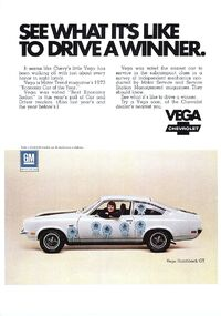 chevrolet vega chevy vega wiki fandom powered by wikia 1973 chevrolet vega advertisement
