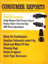 Consumer Reports - June 1971