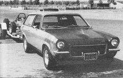 Vega Panel Turbo - R&T Jan. 1972