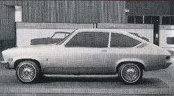 1968 Vega coupe prototype