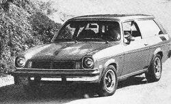 Vega GT Kammback - MT 1975