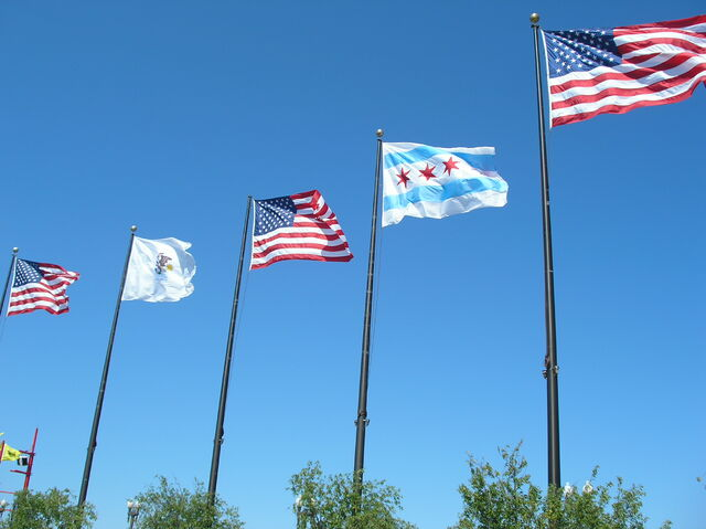 File:Chicago flags.JPG
