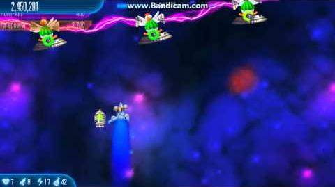 Chicken Invaders 5 Starfield Background from Revenge of The Yolk