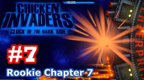 Chicken Invaders 5 - Part 7 Rookie Chapter 7 (No Death)