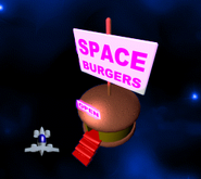 Chicken Invaders Space Burger and Hero