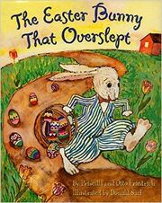 Easter bunny slept 2