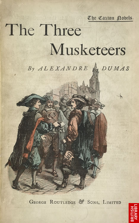 Image result for the three musketeers book