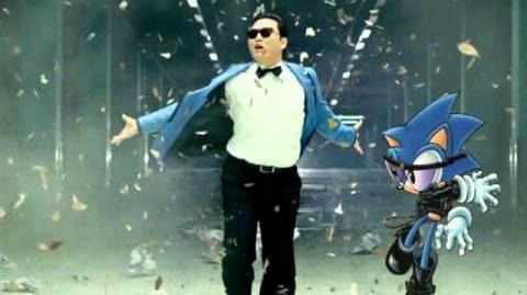 Wrapped In Gangnam Style (Wrapped In Black Gangnam Style)