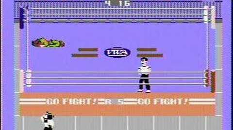 Pro Wrestling - NES Gameplay