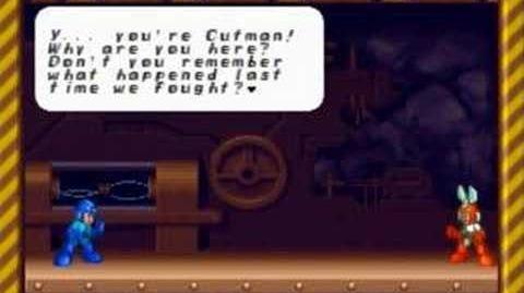 MegaMan 8 - Cutman (Only in Sega Saturn)