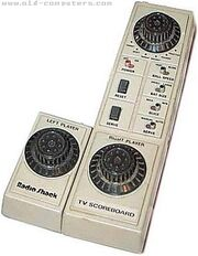 Radioshack hh electronic tv scoreboard