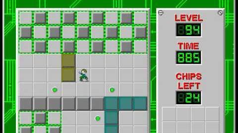 CCLP2 level 94 solution - 776 seconds