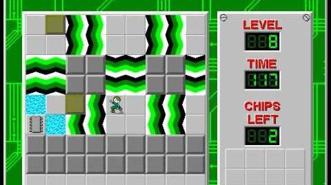 CCLP3 level 8 solution - 111 seconds