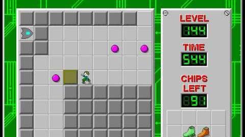 CCLP2 level 144 solution - 490 seconds