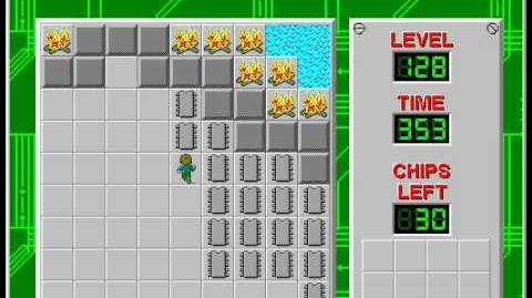 CCLP2 level 128 solution - 336 seconds