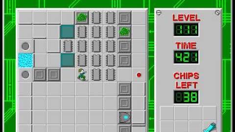 CCLP2 level 111 solution - 375 seconds