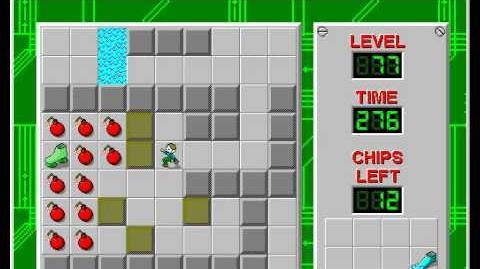 CCLP2 level 77 solution - 244 seconds