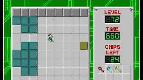 CCLP2 level 72 solution - 451 seconds