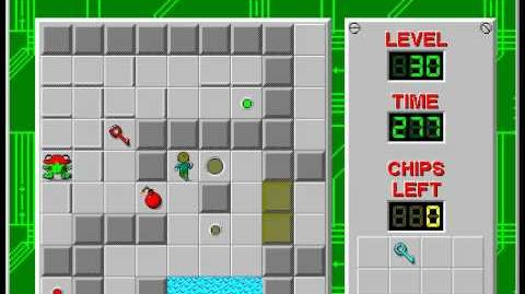 CCLP3 level 30 solution - 232 seconds