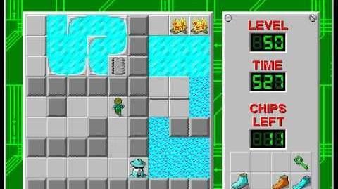 CCLP2 level 50 solution - 428 seconds